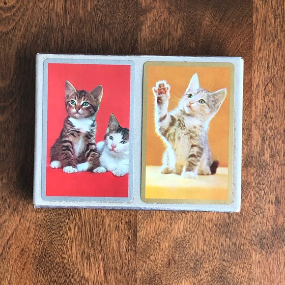 Congress Cat Playing Cards